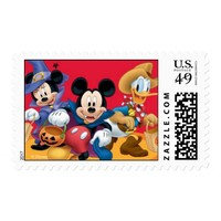 Mickey and Friends Halloween Postage