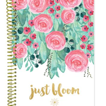 2018 Just Bloom Daily Planner, Multi-Color