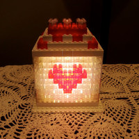 Romantic LED mood light made from LEGO(r) bricks