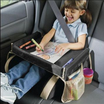 Car Child Safety Seat Kids Snack Travel Play Table Portable