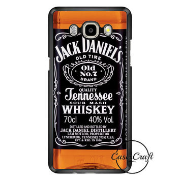Jack Daniels Black Label Samsung Galaxy J7 Case