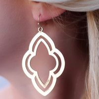 Over the Trellis Earrings
