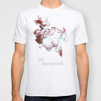 Ink dispersion T-shirt by Little cloud