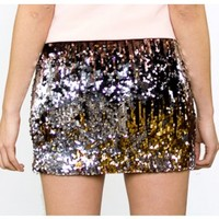 Eye Candy Sequin Skirt