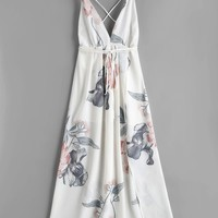 Bali Floral Maxi Long Dress
