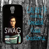 Will Ferrell SWAG Quote Samsung Galaxy S4 2 Piece Durable Cell Phone Case Cover Original Design