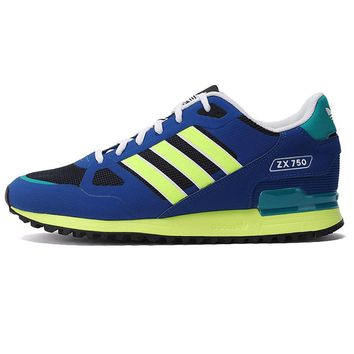 ADIDAS Original New Arrival Mens ZX 750 Basketball Shoes Breathable Waterproof Sneakers Shoes