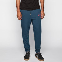 Rvca Peggville Mens Sweatpants Midnight Blue  In Sizes