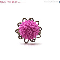 Mothers Day Sale Lilac Purple Mum Ring