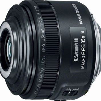 Canon - EF-S 35mm f/2.8 Macro IS STM Lens for Canon APS-C DSLR