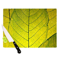 "Robin Dickinson ""Every Leaf a Flower"" Cutting Board"