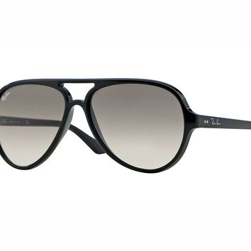 c78b34332a54f sunglasses Ray Ban RB4125 CATS 5000 black crystal grey faded 601