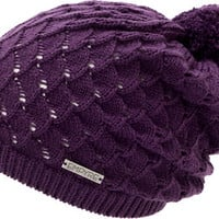 Empyre Girls Milla Black Cherry Pom Beanie at Zumiez : PDP