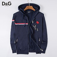 Boys & Men Dolce & Gabbana D&G Casual Cardigan Jacket Coat Hoodie