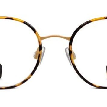 Milton Eyeglasses in Tiger Tortoise for Women | Warby Parker