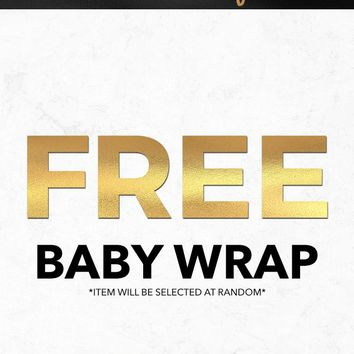 Black Friday 2018 Free Baby Wrap Gift With Purchase