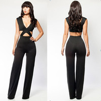 Women's Sexy Jumpsuit Cocktail Party Clubwear = 4427463364