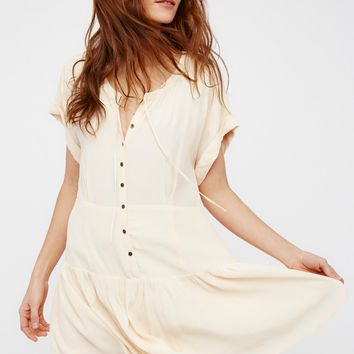 Free People Tait Shirt Dress