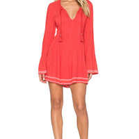 Tularosa Audrey Dress in Watermelon