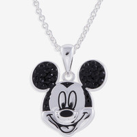 Disney Mickey Mouse Crystal Ears Pendant - Kids | Stage Stores