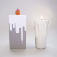Candle in Candle Stand