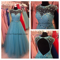 Prom Dresses, Long Sweetheart Prom Dresses 2016, Sweetheart Evening Dresses, Formal Dresses