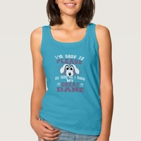 Funny Great Dane Dog Owners Tank Top