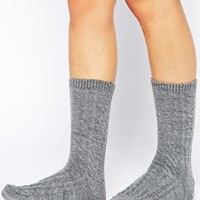 Barbour Ursula Cable Sock