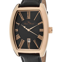 Lucien Piccard Men's Grivola Ortlet IP Stainless Steel Watch, 42mm - Black