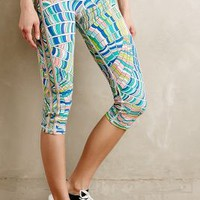 Stained Glass Performance Capris by Trina Turk Assorted