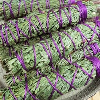 Cedar Protection Smudge Bundle - Small Cedar Smudging Stick - Used for Protection