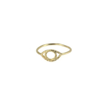 Golden Eye Ring