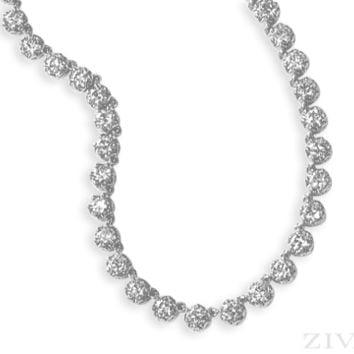 Ziva Antique Diamond Necklace