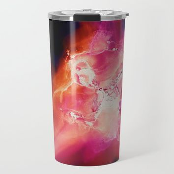 Baby, Hold on to me Travel Mug by duckyb