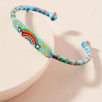 Rain Makes Rainbows Cuff Bracelet