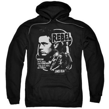 Dean - Rebel Cover Adult Pull Over Hoodie