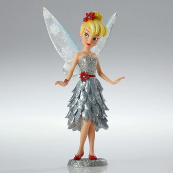 Disney Showcase Christmas Tinker Bell Couture de Force Figurine New With Box