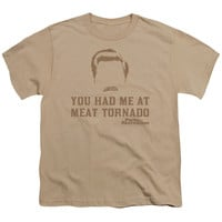 PARKS & REC/MEAT TORNADO - S/S YOUTH 18/1 - SAND -