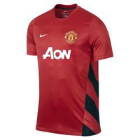 Nike Manchester United Squad Men's Soccer Jersey - Challenge Red