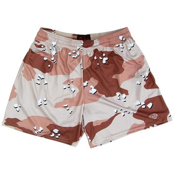 Desert Storm Army Camo Rugby Shorts