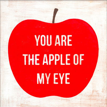 Sugarboo Art Print: Apple of My Eye