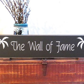 The Wall of Fame - Custom hand painted name sign