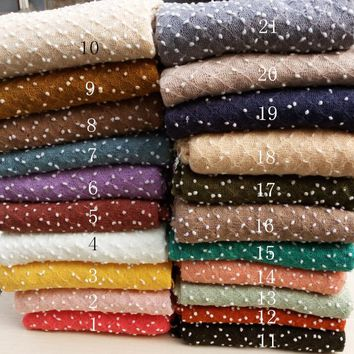 150*100cm Knit Bobble Wraps  Newborn Baby Photography Backdrops Background Newborn  Blanket Props   Photography fabrics