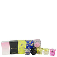 Bright Crystal Perfume By Versace Gift Set FOR WOMEN