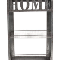 Home Metal Wall Rack And Shelf - Office & Stationery - T.J.Maxx