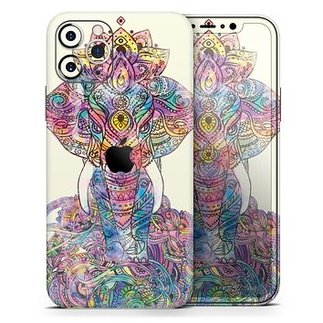 Zendoodle Sacred Elephant - Skin-Kit for the Apple iPhone 11, 11 Pro or 11 Pro Max