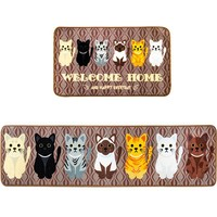 Brown Cat Floor Rugs