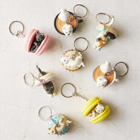 Cafe Du Meow Dessert Cat Blindbox Keychain - Urban Outfitters