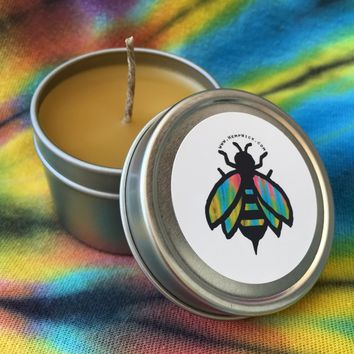 Beeswax Candle Tin 2oz