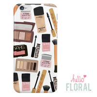 Essential Makeup Kit iPhone 4/4s 5 5c 5s 6/6s Plus Samsung Galaxy S2 S3 S4 s5 Ace iPod Touch 4th 5th hard case